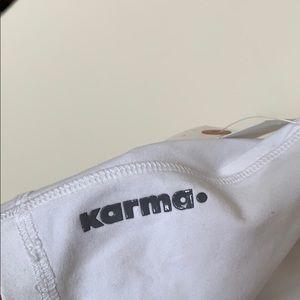 Karma Tops - Karma white top